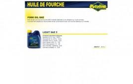 Huile fourche light SAE 5 minerale , , 500ML PUTOLINE