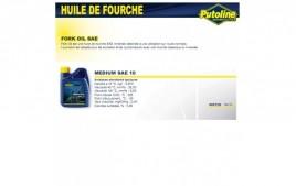 Huile fourche medium SAE 10 minerale , , 500ML PUTOLINE