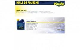 Huile fourche heavy SAE 20 minerale , , 500ML PUTOLINE