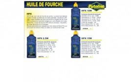Huile fourche HPX 10W , , 1L PUTOLINE
