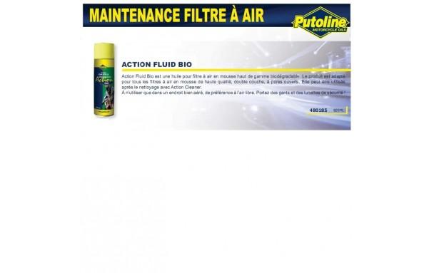 huile filtre a air biodegradable pour mousse aerosol 600ml putoline europ 39 acc. Black Bedroom Furniture Sets. Home Design Ideas