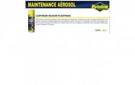 Lustreur silicone spécial plastiques (aerosol), , 500ML PUTOLINE