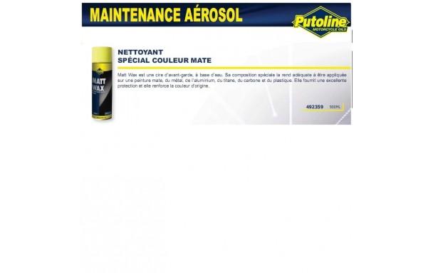 Nettoyant carrosserie spécial couleur mat/carbone/plastique (aerosol) , , 500ML PUTOLINE