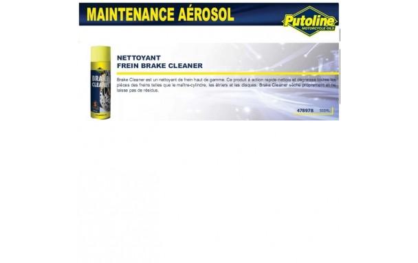 Nettoyant frein brake cleaner(aerosol), , 500ML PUTOLINE