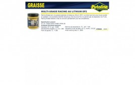 Graisse racing multi usage au lithium EP2, , 600Gr PUTOLINE