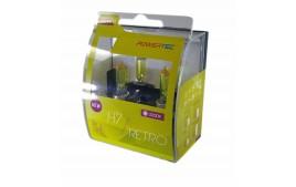 Ampoules vintage jaune H7