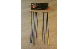 Colliers inox 200mm (Kit de 10) pour bande thermique echappement