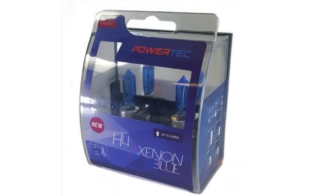 Ampoules xenon bleu H4