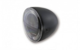 5 3/4 pouces LED Phare CIRCLE, noir HIGHSIDER