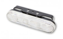 LED-DRL w. position lumière, rectangular HIGHSIDER