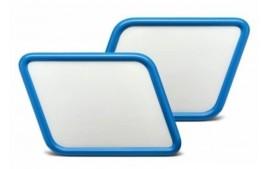 Paire de plaques numéro scrambler C-RACER