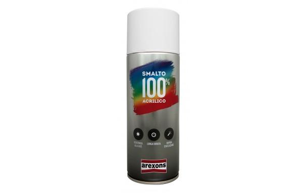 Bombe de peinture Arexons acrylique Noir mat - 400ml