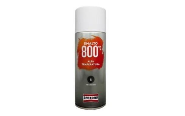 Bombe de peinture haute température 800°C Noir - 400ml