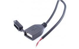 Prise DOUBLE USB fixation sur guidon