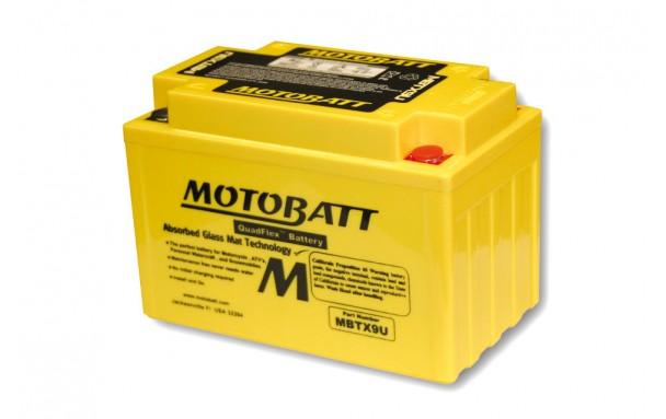 Batterie MOTOBATT MBTX9U (4 poles)