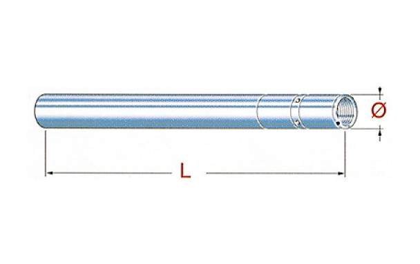 Tube de fourche YAMAHA MT 07 ABS